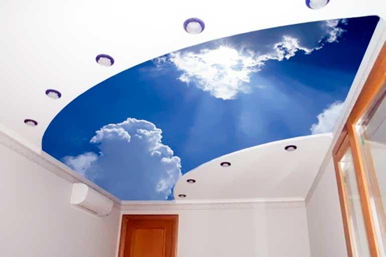 натяжные потолки цена за квадратный метр