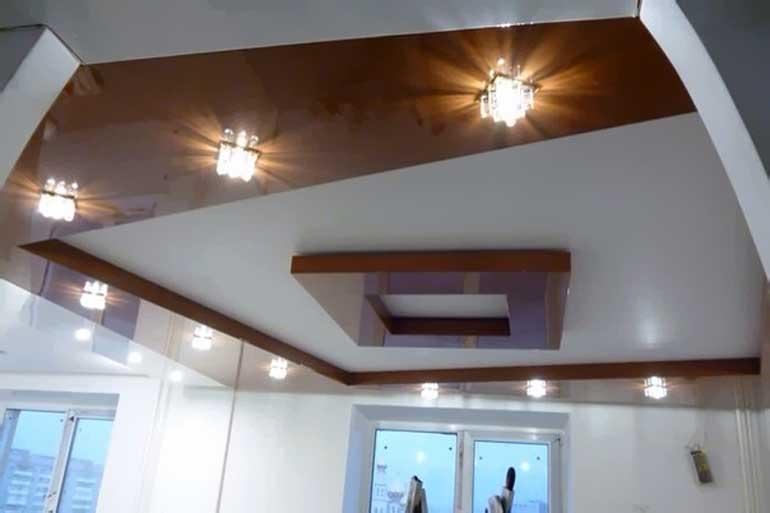 многоуровневые натяжные потолки цены